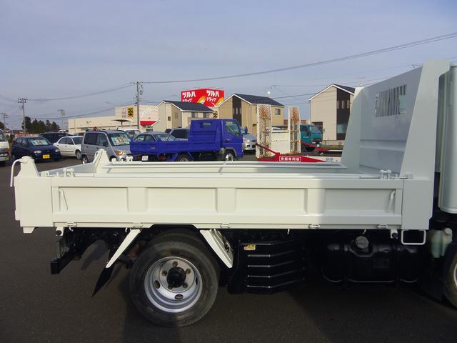 いすゞ エルフトラック 全低床4WD強化ダンプ コボレーン付 NOx・PM適合