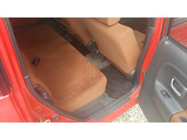 シートもきれいに保たれています。車内もクリーニングしてお渡しです。