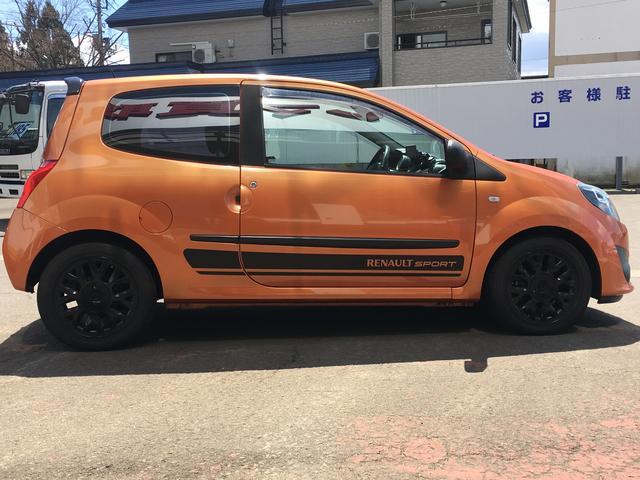 ルノー ルノー トゥインゴ QSリミテ2 30台限定モデル 社外ポータブルナビ ETC付