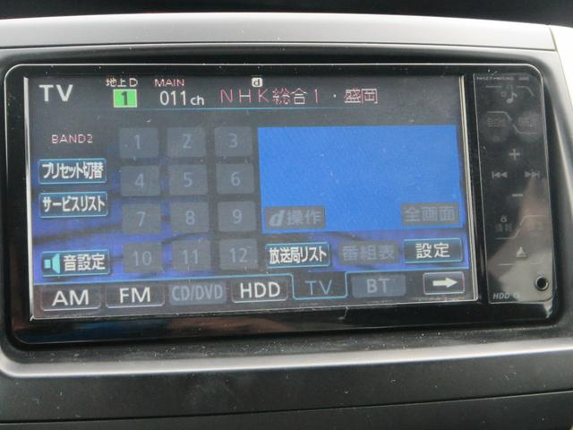 トヨタ ノア Si 4WD 純正HDDナビ バックカメラ 左側パワードア