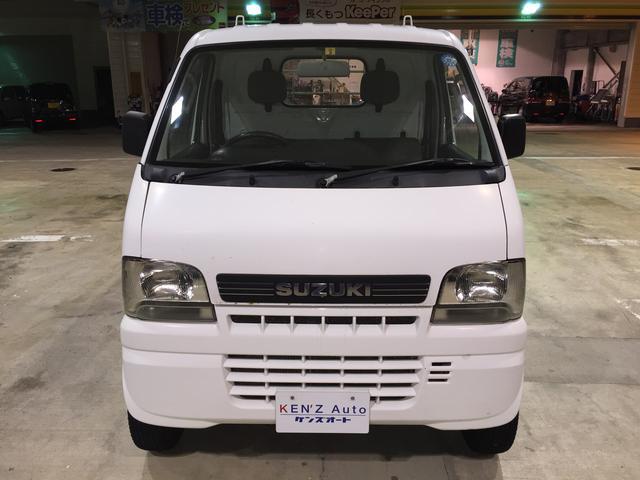 スズキ キャリイトラック KU パワステ付 3方開 4WD 5MT