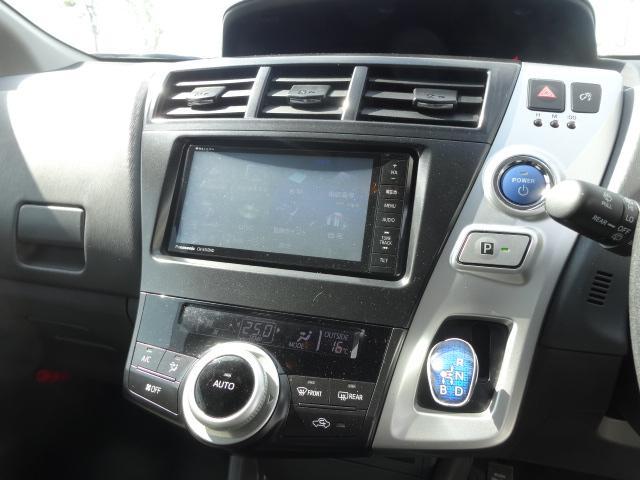 トヨタ プリウスアルファ S Lセレクション フルセグTVメモリーナビ HID エアロ