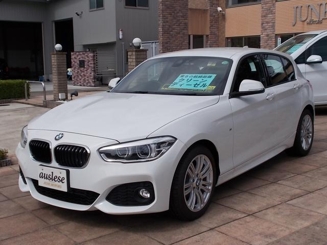 BMW 1シリーズ 118d Mスポーツ 未使用車 HDDナビ (...