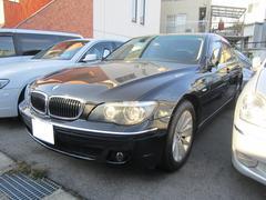 BMW740i ブラックレザーシート サンルーフ