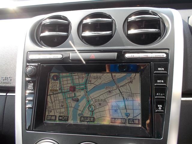 マツダ CX-7 クルージングパッケージ 4WDターボ 22AW HDDレザー