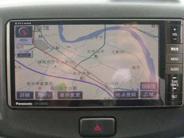 ダイハツ ミライース Gf 4WD 地デジナビTV DVD再生 キーレス