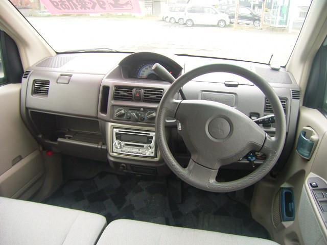 三菱 eKワゴン M 社外CDMDデッキ 社外アルミW キーレス