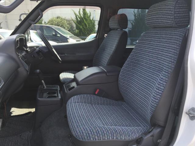 トヨタ ハイエースバン ロングスーパーGL 地デジナビ 4WD Dゼル