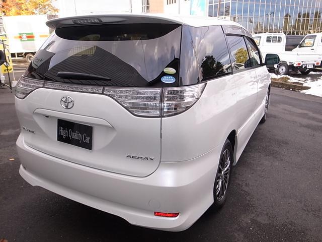 トヨタ エスティマ 2.4アエラス Gエディション 4WD 禁煙車 7人乗