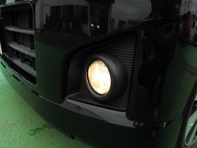 霧や雪道で安心なフォグランプ装備(^^)