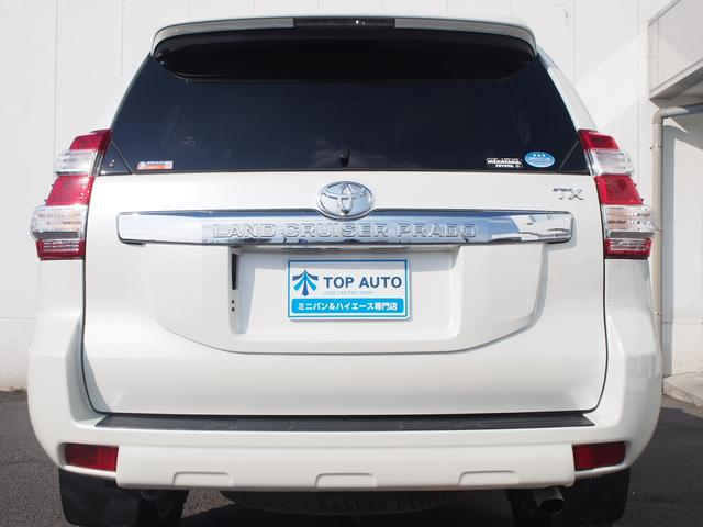 トヨタ ランドクルーザープラド TX Lパッケージ 4WD クルコン 本革シート 保証付