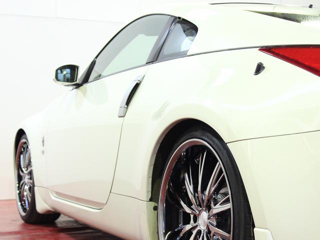 日産 フェアレディZ verT黒革新品メッキライト新品20メッキAW社外マフラー