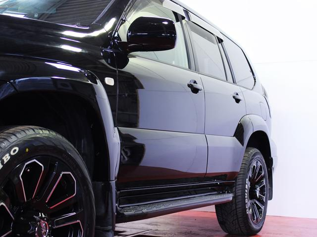 トヨタ ランドクルーザープラド TZ新品20インチホイール新品イカリングライト新品エアロ