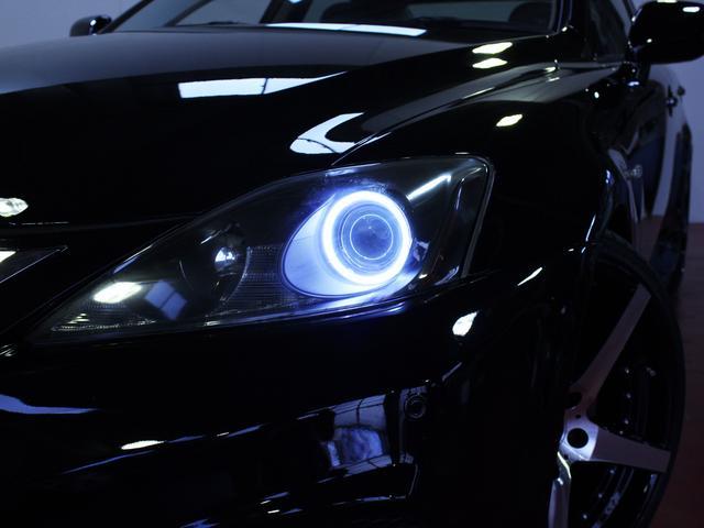 レクサス IS 250スピンドルエアロ20インチAWイカリング黒ヘッドライト