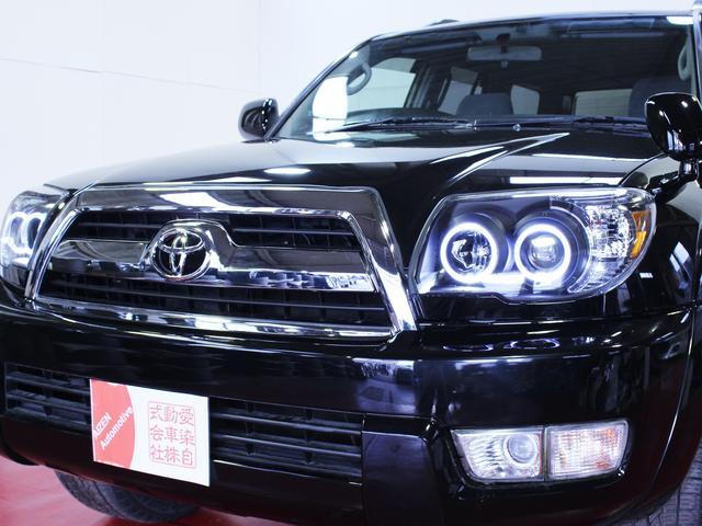 トヨタ ハイラックスサーフ 後期仕様新イカリングブラックライト新20AW新メッキグリル