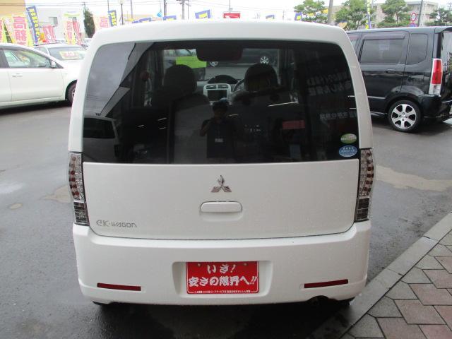 三菱 eKワゴン M タイミングベルト交換済 ETC 純正CD キーレス