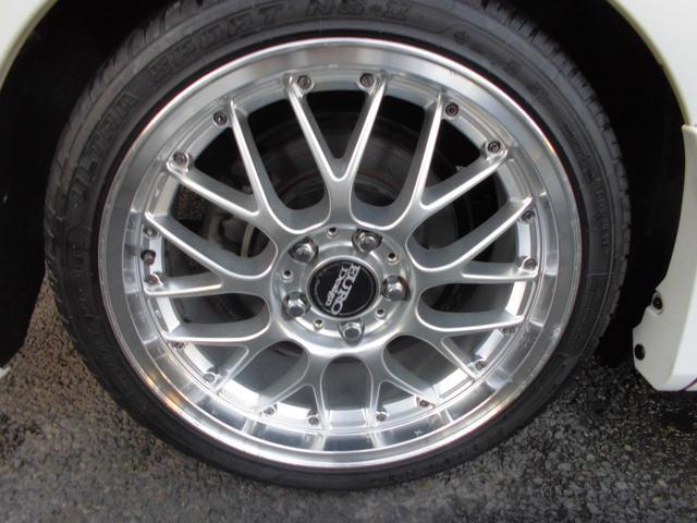 トヨタ ノア S ストラーダHDDナビ ブリッツ車高調 18インチAW