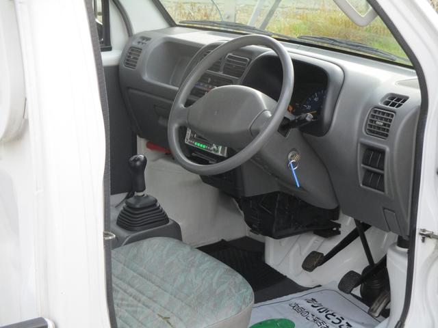 スズキ キャリイトラック KA 4WD 3方開 ルームクリーニング付き