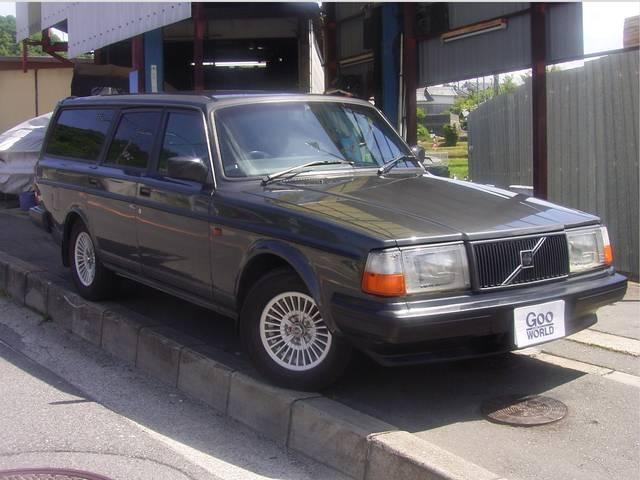 ボルボ 240ワゴン 240クラシックワゴン LTD 革シート (...