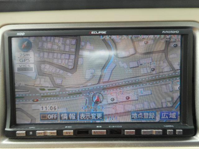 市街地詳細地図もしっかり表示できるナビです!!これで道に迷うことはありませんね。