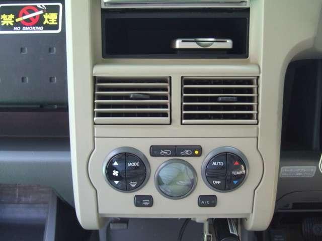 オートエアコン完備!自由自在に温度を設定でき、室内快適♪♪