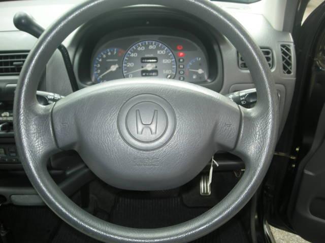 助手席、運転席、ツインエアバックで安全面も良好なライフエアロ付きです!