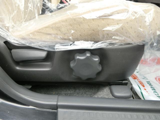 シートの高さを調整できる便利なシートリフターもついてますよ^−^