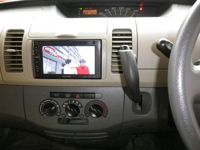 ワンセグテレビ、DVDビデオ再生可能のナビです。