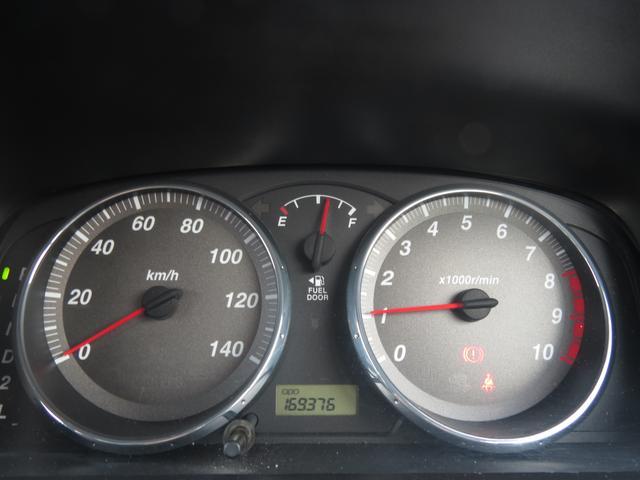 メーター 走行距離は約17万km