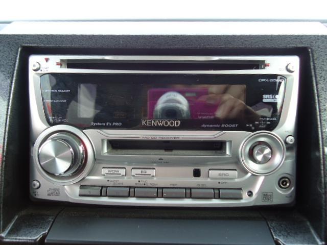 CD&MD付き!音楽を聴きながら楽しいドライブへ♪