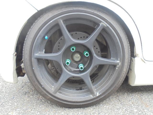ホイール:P−1レーシング タイヤサイズ:165/45R15