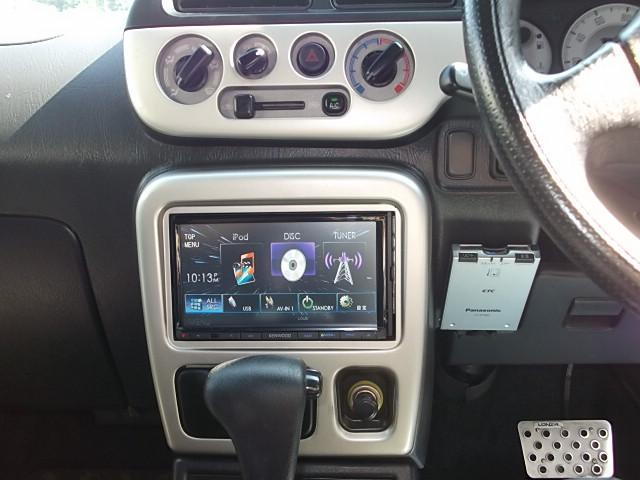 ipodの接続もできます♪お気に入りの音楽をかけてドライブしましょう♪