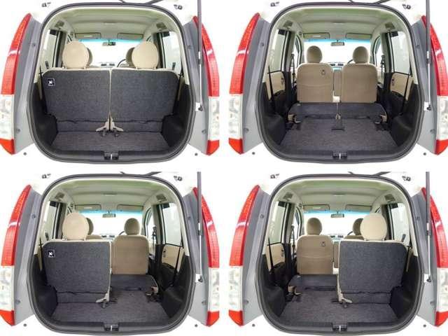 余裕の室内広さは、さすがホンダの車ですね。クラストップクラスの室内容量が自慢です!