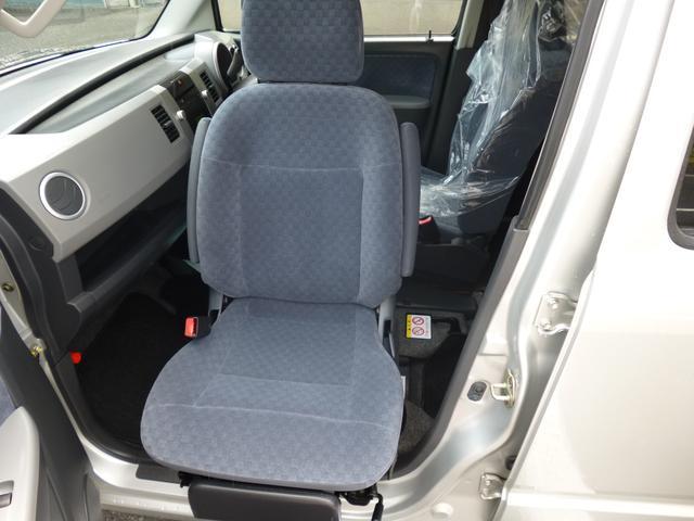 助手席回転シートです。