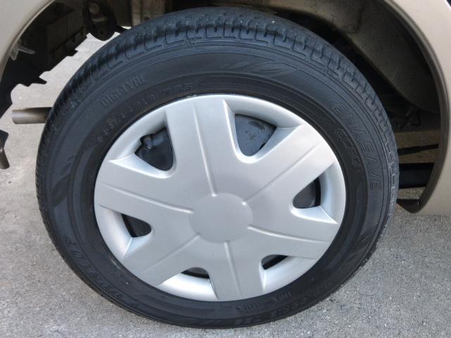 タイヤ溝も充分あります。