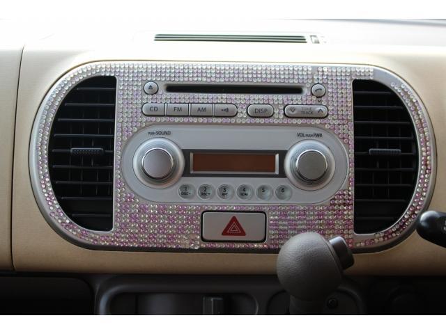 CDデッキ付♪お好きな音楽を聴きながらドライブを楽しんで頂けます!!