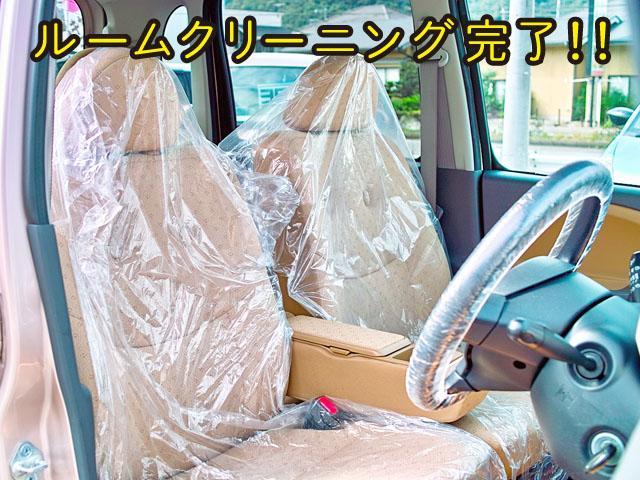 全車専用機械でルームクリーニング施工してます!フロントシートも、もちろん汚れや破れも無く非常に良いコンディションですよ☆