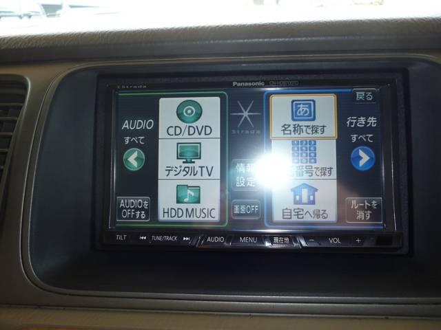 パナソニックHDDナビ(CN−HDS700TD)装備です!地デジ、DVD再生など可能です!