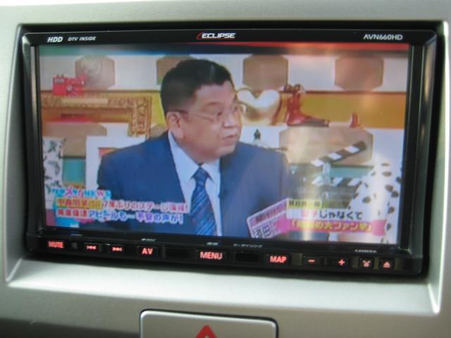 地デジTVも視聴可能。