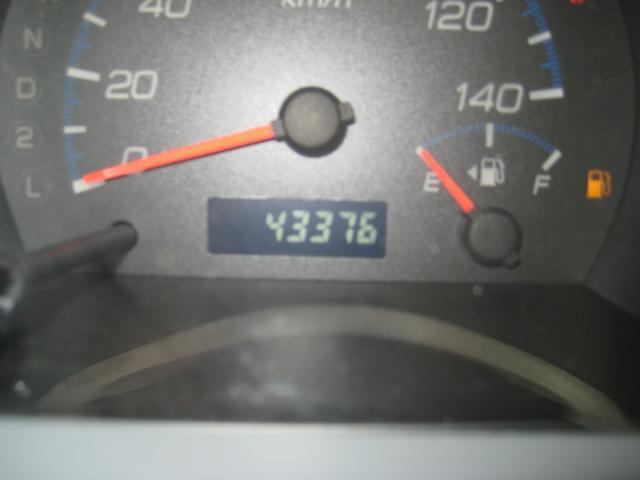 走行43,376キロ!少ないです!