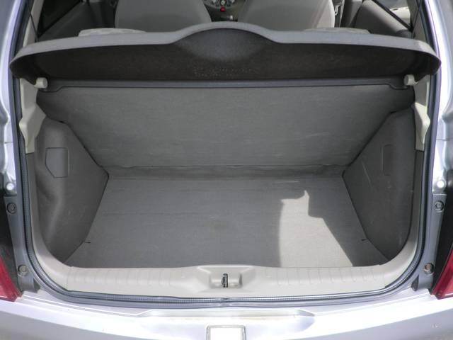 トランク広々で小さな荷物から大きな荷物まで積み下ろし楽々!