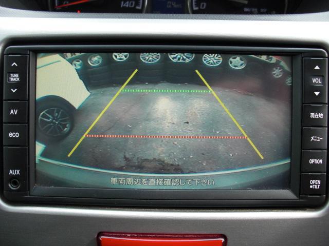バックカメラ付き!駐車の際も安心です!