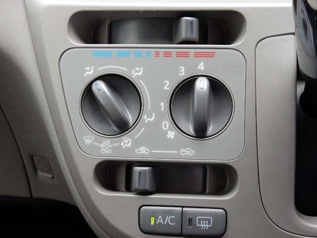 エアコンの、操作部分も、すつきりとして、使いやすいですよ。