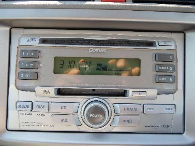 気になる、オーディオは、CDチューナー デザインもオシャレです。