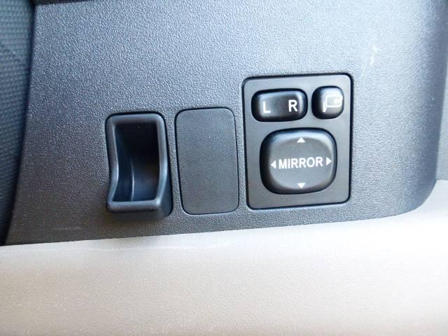 ミラーは電動格納式ミラーになっています。駐車の時などに便利ですね!また、コイン入れも有りますよ^v^