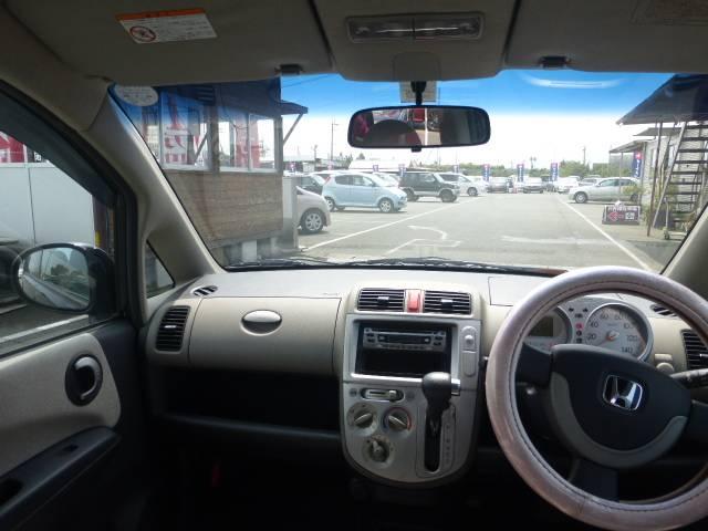 運転席からの見晴らしも良く初めてお車に乗られる方でも乗りやすいと思いますよ!