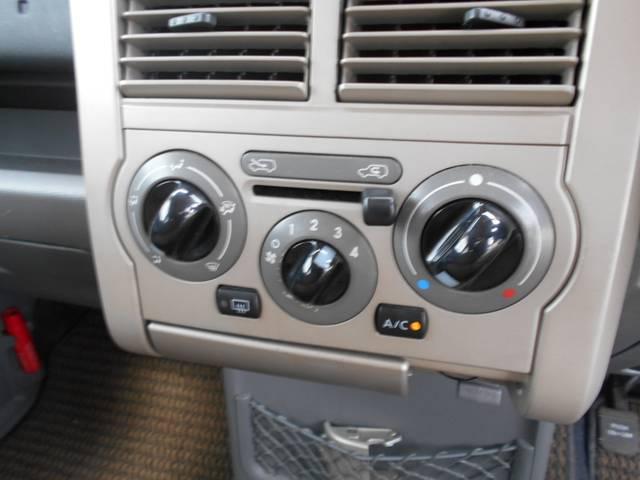 シンプルで使い易いスイッチ、操作簡単なエアコン完備です☆