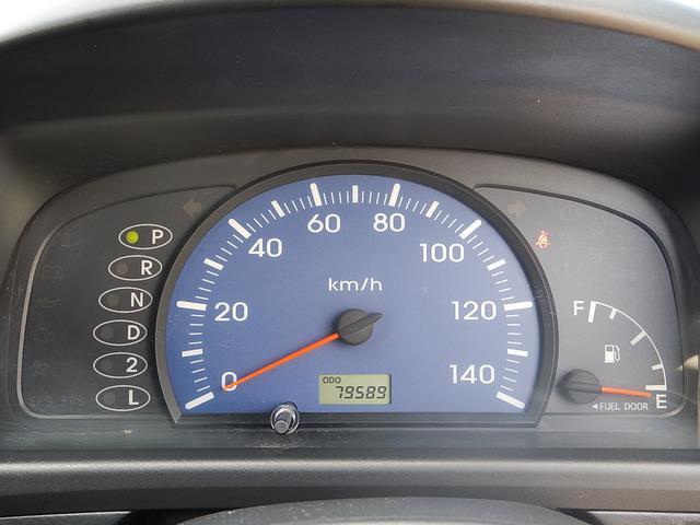 【メーターパネル部】現在の走行距離は約79,590kmです!まだまだ元気な車ですよ♪