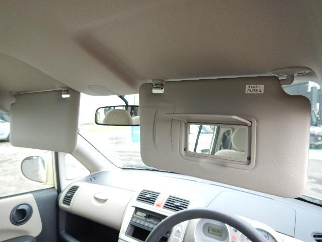 【サンバイザー部】運転席側にバニティミラーが付いています♪