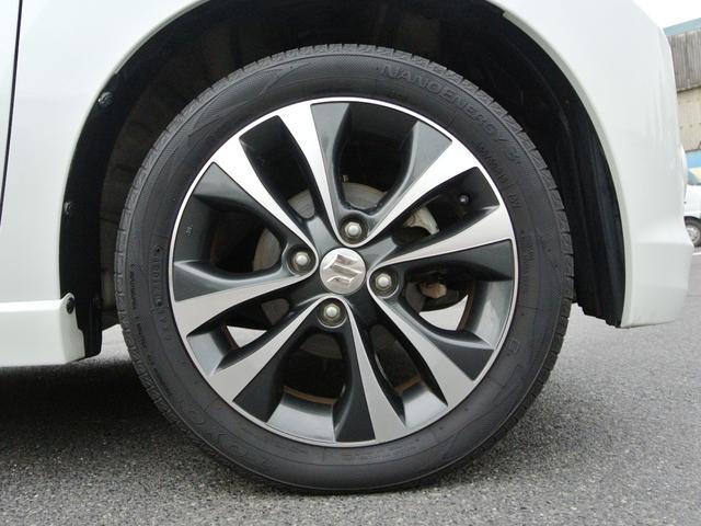 純正エアロ・アルミ タイヤ4本7分山ぐらいです! しばらくはタイヤ交換の心配無用です!